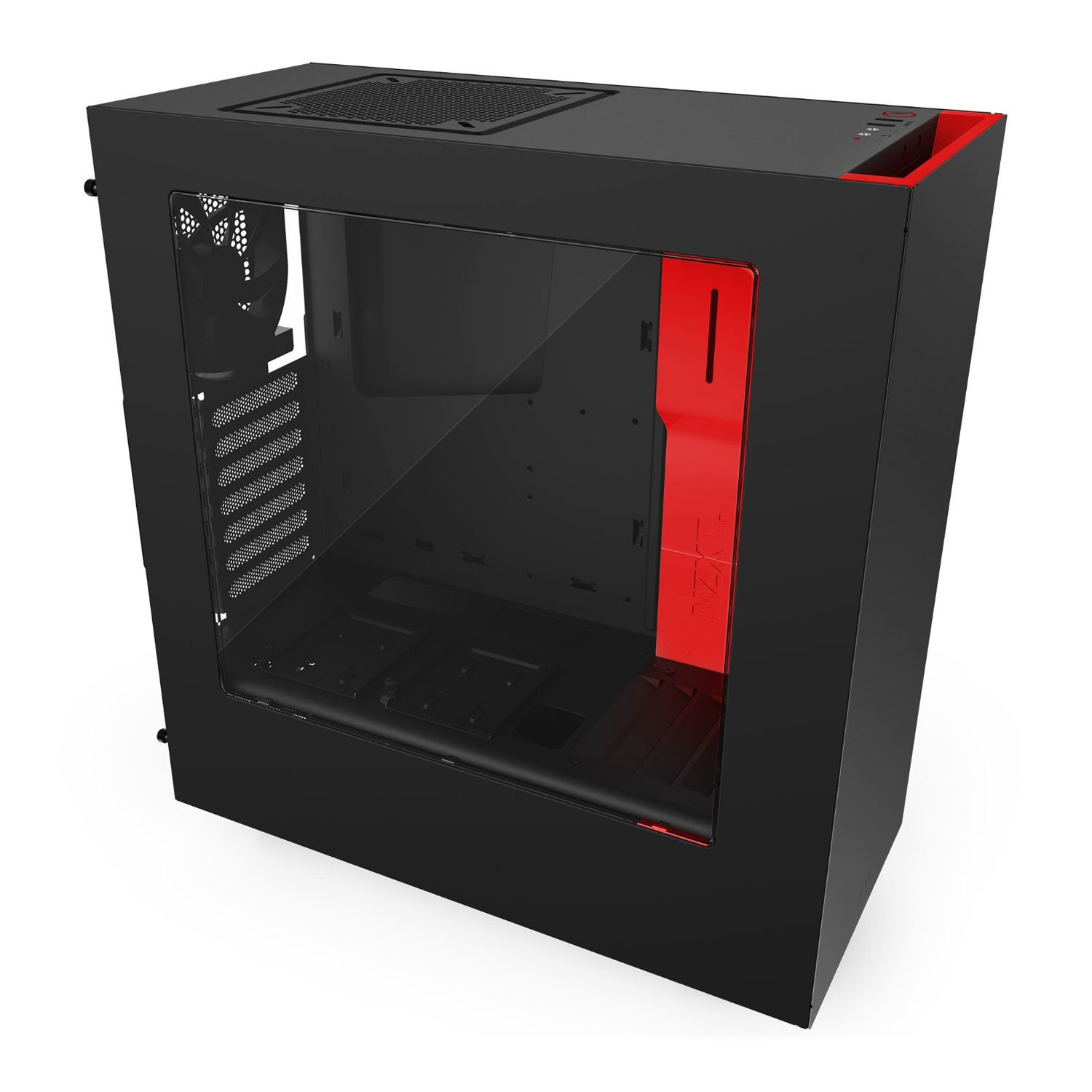 how to open nzxt s340 case