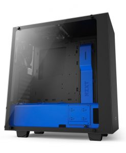Gaming PC Case NZXT S340 Elite Black/Blue VR Support