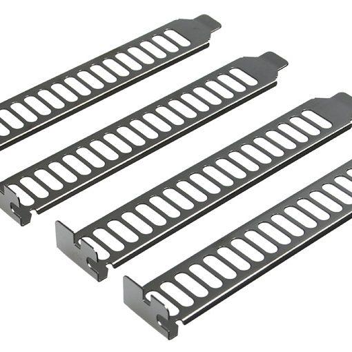 Silverstone SST-Aeroslots PCI Slot Covers - Black Nickel