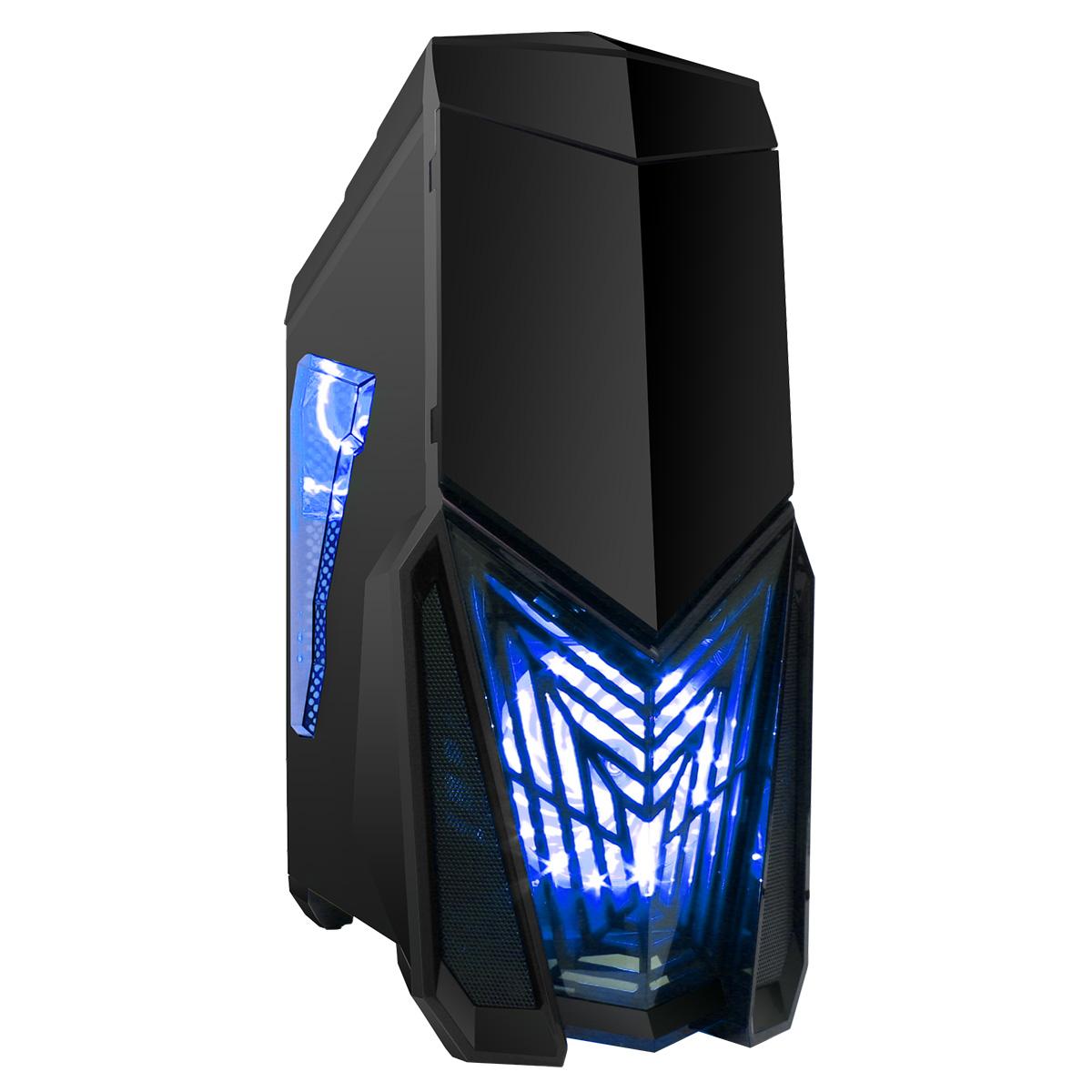 Gamemax Polaris RGB Tempered Glass Case Review - YouTube