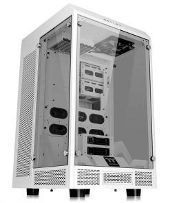 The Tower 900 Thermaltake White PC Case E-ATX Tempered Glass