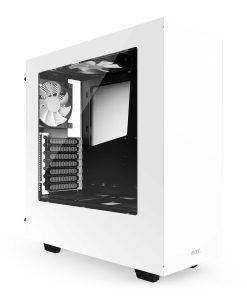 NZXT S340 White Gaming PC Case