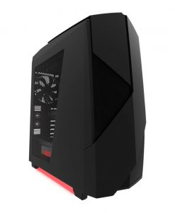 NZXT Noctis 450 PC Gaming Case Matte Black