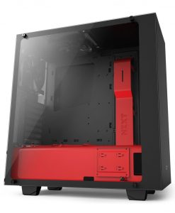 Gaming PC Case NZXT S340 Elite Black/Red VR Support