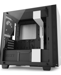 NZXT White H700i PC Gaming Case Smart Windowed Tower PC Case