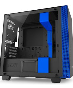 NZXT Blue H400i PC Gaming Case Micro ATX Windowed