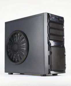 X-792 Black Mid Tower 22cm Side Fan