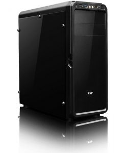 AVP X6 Mid Tower Black Case