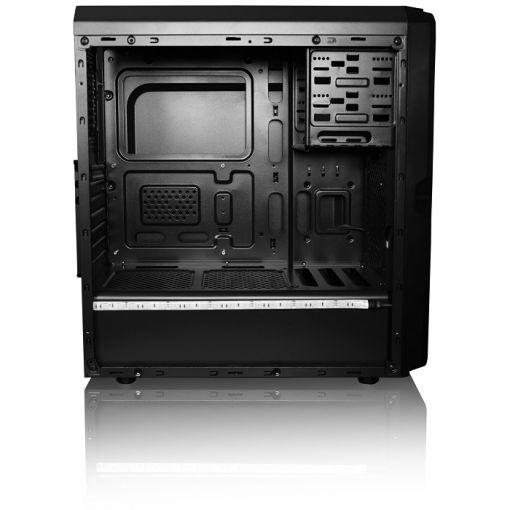 AVP X6 Mid Tower Black Case 2xRGB Fans/1xRGB LED Strip/RC