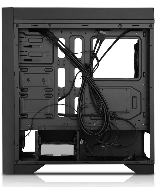 Game Max Titan Gaming PC Case Black RGB