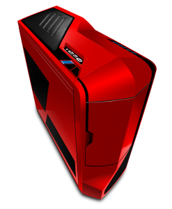 NZXT Phantom Gaming PC Case Red