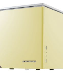 Xigmatek Nebula C Mini-ITX Cube Case Yellow