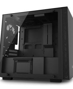 NZXT Black H200i Smart Mini ITX Windowed PC Gaming Case