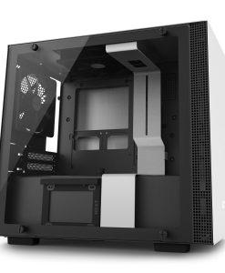 NZXT White H200i Smart Mini ITX Windowed PC Gaming Case