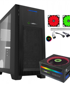 Bundle Deal – Game Max Mini Kallis Case + Modular RGB PSU + RGB LED Strips Kit