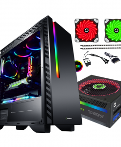 Bundle Deal - Game Max Chroma RGB Case + 1050w RGB PSU + RGB LED Strips Kit