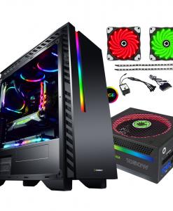 Bundle Deal - Game Max Chroma RGB Case + 1050w RGB PSU + RGB LED Strips Kit