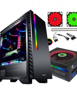 Bundle Deal - Game Max Chroma RGB Case + 550w RGB PSU + RGB LED Strips Kit