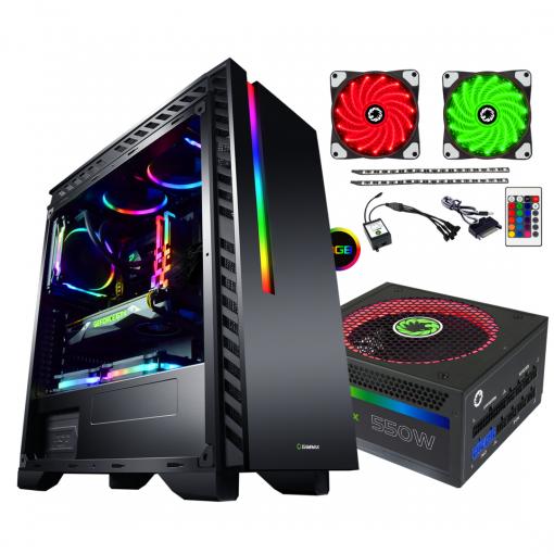 Bundle Deal - Game Max Chroma RGB Case + 550w RGB PSU + RGB LED Strips Kit