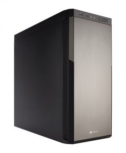 Corsair Carbide 330R Silent Mid Tower Case - Titanium Edition (CC-9011071-WW)