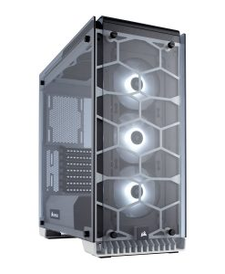 Corsair Crystal 570X RGB Midi Tower Tempered Glass Case - White (CC-9011110-WW)