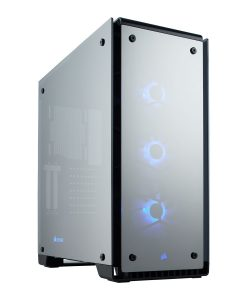 Corsair Crystal 570X RGB Mirror Midi Tower Tempered Glass Case - Black (CC-9011126-WW)
