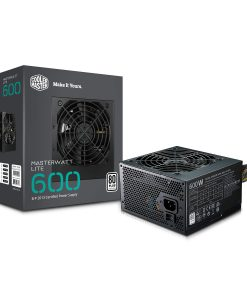 Cooler Master MasterWatt Lite V2 600 Watt 80+ PSU/Power Supply