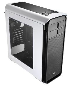 Aero-500 White Gaming Case With Window & Card Reader