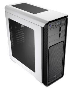 Aerocool Aero-800 White Gaming PC Case With Window