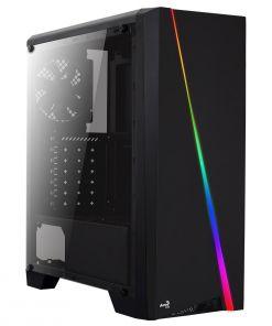 Aerocool Cylon Black RGB LED Midi Case