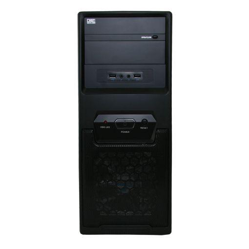CiT 1017 Black PC Case LED Fan 500W PSU