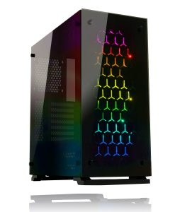 Game Max Onyx PC Gaming Case RGB Tempered Glass