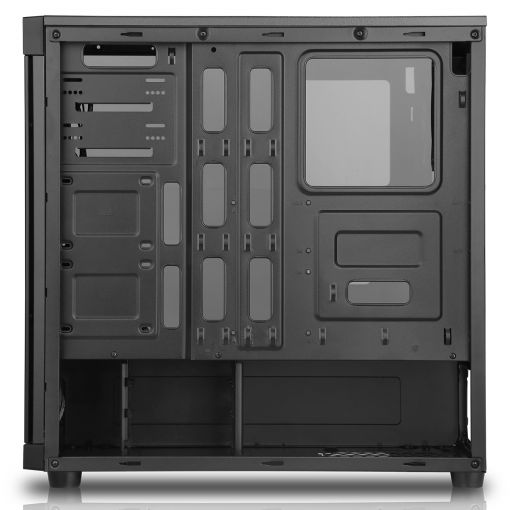 Game Max Polaris PC Gaming Case Black RGB Tempered Glass PC Case