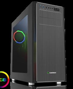 Game Max Vanguard VR2 Brushed Alum RGB Gaming PC Case