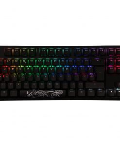 Ducky One2 Mechanical Keyboard TKL RGB USB with Cherry MX Black Switches