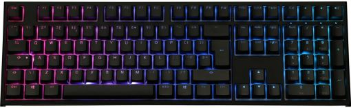 Ducky One2 Mechanical Keyboard RGB with Cherry MX Black Switches