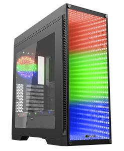 Game Max Abyss Full Tower with Tempered Glass Front Panel