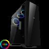 Game Max Aurora RGB Midi Tempered Glass Gaming Case