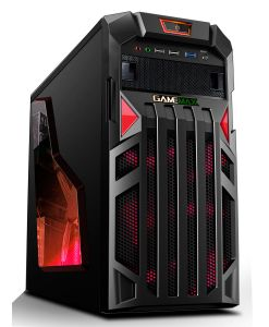 Game Max Centurion Gaming PC Case PN532R with Red LED Fans
