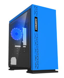 Game Max Expedition MicroATX Blue Gaming Case