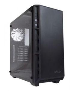 Antec Tempered Glass P8 Mid Tower PC Gaming Case with LED Logo/Fans