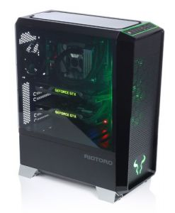 Riotoro CR1280 PRISM RGB Gaming Case with Window