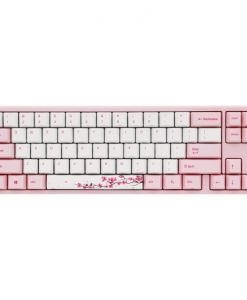 Ducky Varmilo MIYA Pro Sakura Edition Black Cherry MX Switch 60% Mechanical Gaming Keyboard (UK Layout)