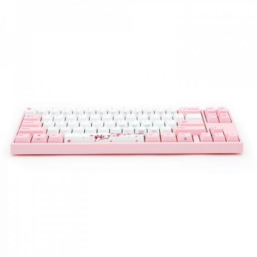Ducky MIYA Pro Sakura Edition Black Cherry MX Switch 60% Mechanical Gaming Keyboard (UK Layout)