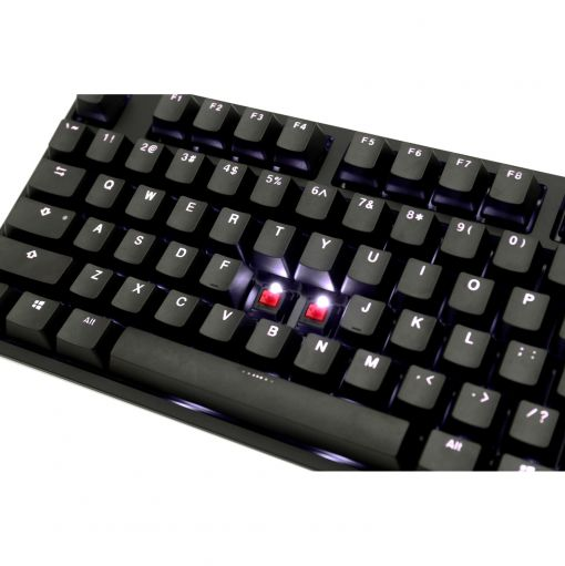 Ducky One 2 USB Mechanical Keyboard Cherry MX Black Switches (UK Layout)