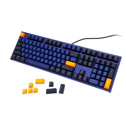 Ducky One 2 Horizon USB Mechanical Keyboard Cherry MX Blue Switches (UK Layout)
