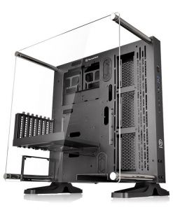 ThermalTake Core P3 Horizontal/Vertical/Wall Mountable Black Case With Acrylic Window
