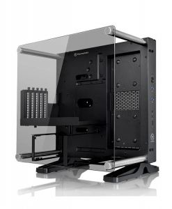 ThermalTake Core P1 Wall Mountable Tempered Glass Mini ITX PC Gaming Case