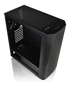 Thermaltake Versa J24 Mid-Tower Case with Tempered Glass Window