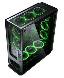Sahara P75 Full Tower RGB Gaming Case Tempered Glass